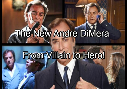 Days of Our Lives Spoilers: The Evolution of Andre DiMera – From Villain to Hero - Gripping Storyline Teased