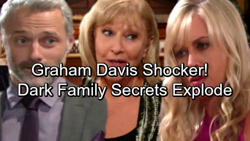 The Young and the Restless Spoilers: Graham Davis Shocker, Traci Provides Evidence – Ashley Reels as Dark Family Secrets Explode