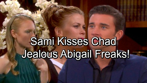 Days of Our Lives Spoilers: Abigail Catches Sami Kissing Chad – Sami Seeks Revenge For Abby's EJ Affair