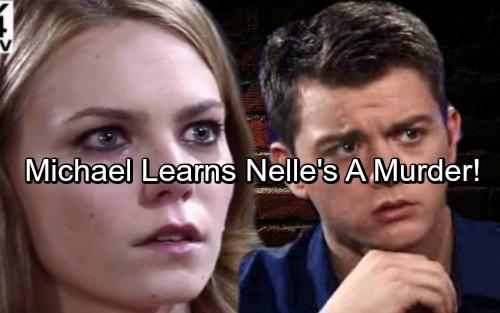 General Hospital Spoilers: Michael Learns Nelle's A Murderer, Disturbing Info Sparks Killer Fears – Nelle's Secrets Unravel