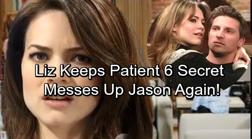 General Hospital Spoilers: Liz Keeps Another Jason Secret - Rekindled Obsession and Hidden Agenda Cause Disaster