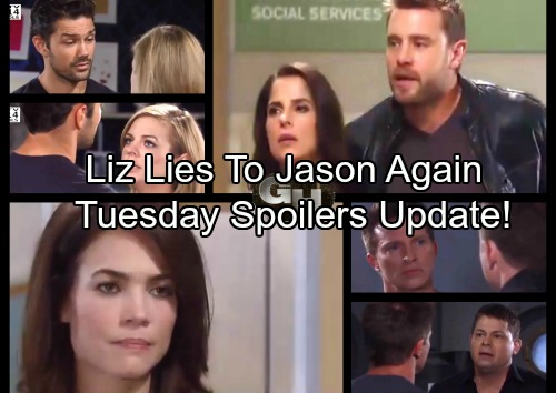 General Hospital Spoilers: Tuesday, October 10 Update – Liz Lies, Jason Suspicious - Huxley Sparks Worry – Parker's Confession
