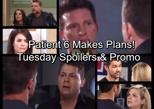 General Hospital Spoilers: Tuesday, October 10 – Patient Six Makes Plans – Jason Seeks Liz Answers – Alexis Explodes at Kristina