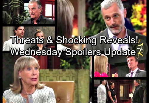 The Young and the Restless Spoilers: Wednesday, October 11 Updates - Nick Seals His Fate - Victor Onto Jack's Trap