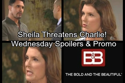 The Bold and the Beautiful Spoilers: Brooke Pushes Katie to Reveal Mystery Man – Sheila Threatens Charlie