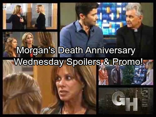 General Hospital Spoilers: Wednesday, October 11 – Morgan's Death Anniversary – Kristina Missing, Alexis Blasts Parker