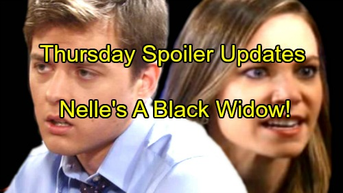 General Hospital Spoilers: Thursday, October 12 Update – Curtis Learns Shocking Nelle Secret, Is She A Black Widow?