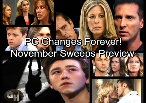 General Hospital Spoilers: November Sweeps Preview – Major Bombshells and Shocking Relationship Upheaval