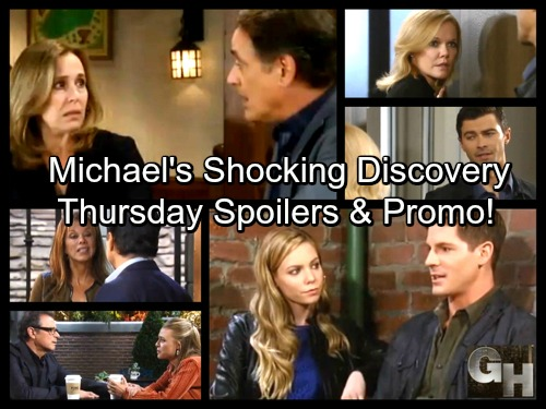 General Hospital Spoilers: Thursday, October 12 – Michael's Shocking Discovery – Laura Answers Proposal – Dillon and Kiki Drama