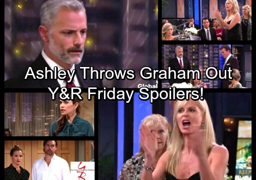 The Young and the Restless Spoilers: Friday, October 13 - Furious Ashley Orders Graham to Go – Nick's Insanity Puzzles Victoria