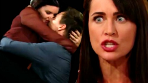 The Bold and the Beautiful Spoilers: Quinn Catches Wyatt and Katie in Bed – Mama Bear Explodes Over Son's Romance with Rival