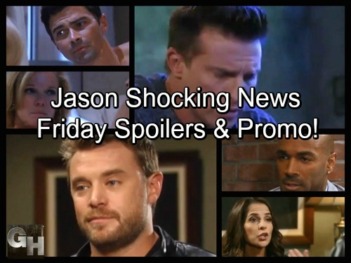 General Hospital Spoilers: Friday, October 13 – Jason's News Stuns Sam – Ava Has Second Thoughts – Curtis Drops Bomb on Michael