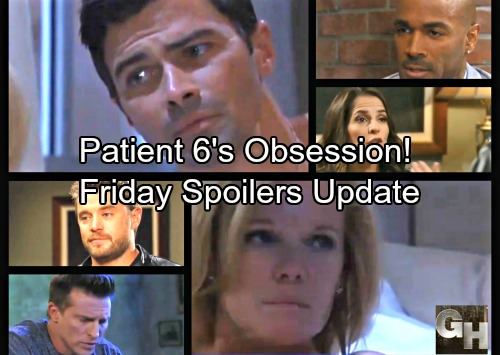 General Hospital Spoilers: Friday, October 13 Update – Patient Six Is Obsessed – Valentin and Jason Conflict – Nelle Spooked