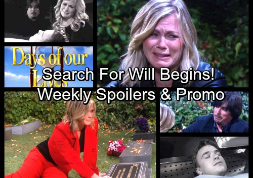 Days of Our Lives Spoilers: Week of October 16 - Sami Vows to Find Will – Andre and Chad Search For Dr. Rolf