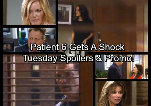 General Hospital Spoilers: Tuesday, October 17 – New JaSam Devastates Patient Six – Griffin Reveals Decision