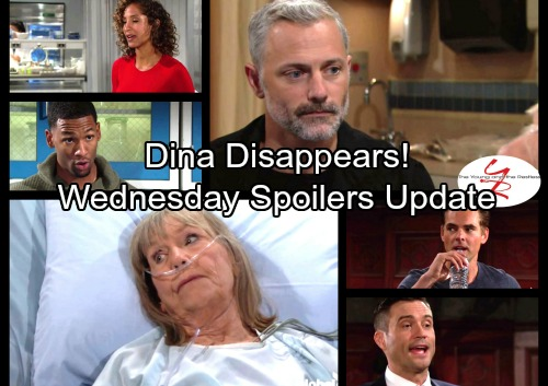 The Young and the Restless Spoilers: Wednesday, October 18 Updates - Dina Disappears – Lily Has Big News for Jordan