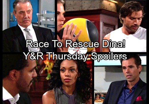 The Young and the Restless Spoilers: Thursday, October 19 Updates - Desperate Abbotts Race to the Airport to Rescue Dina