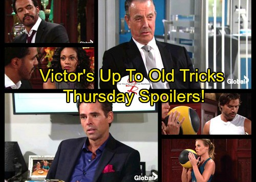 The Young And The Restless Spoilers Thursday October 19 Victor