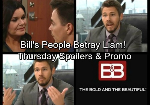 The Bold and the Beautiful Spoilers: Thursday, October 19 - Justin Does Bill's Dirty Work – Ken Destroys Incriminating Evidence