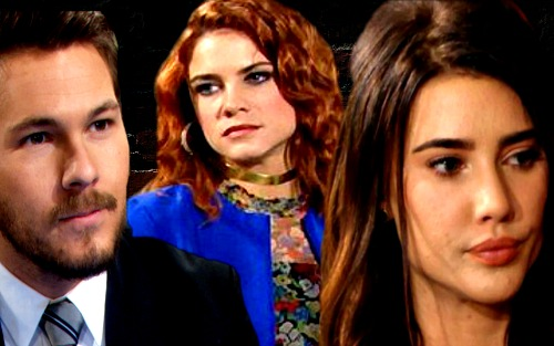 The Bold and the Beautiful Spoilers: Sally Spies, Learns About Bill and Steffy's Hookup - Steffy Begs Rival To Lie