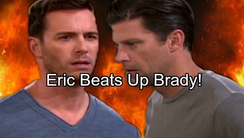 Days of Our Lives Spoilers: Eric Punches Brady, Unleashes Wrath Over Nicole Threat – Brother Battle Gets Ugly