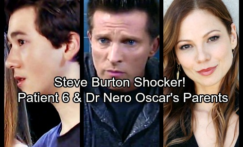 General Hospital Spoilers: Steve Burton Shocker - Oscar Is Patient Six's Son With Tamara Braun's Dr. Kim Nero