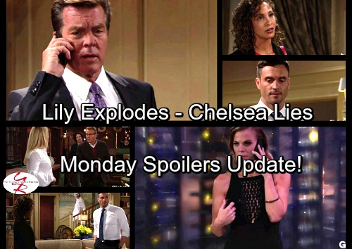 The Young and the Restless Spoilers: Monday, October 23 Update - Chelsea Keeps Victoria's Secret – Zack's Disaster – Billy Busted