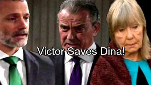 The Young and the Restless Spoilers: Victor Saves Dina, Pulls Off Dramatic Rescue – Abbotts Grateful for Unlikely Ally's Help