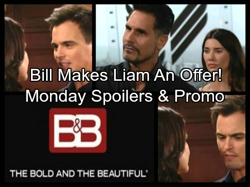 The Bold and the Beautiful Spoilers: Bill Throws Defeated Liam a Bone, Makes an Offer – Wyatt Fears War Isn't Truly Over