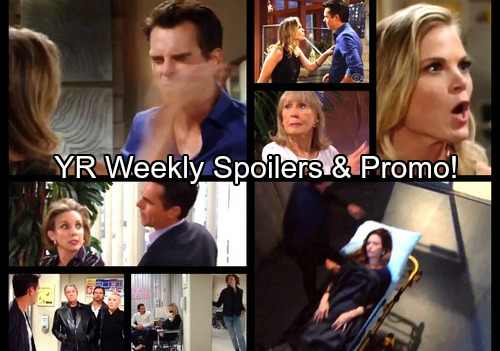 The Young and the Restless Spoilers: Week of October 23 – Victoria Rushed to Hospital After Hilary Hour Collapse – Billy Battered https://www.celebdirtylaundry.com/2017/the-young-and-the-restless-spoilers-week-of-october-23-victoria-rushed-to-hospital-after-hilary-hour-collapse-billy-battered/