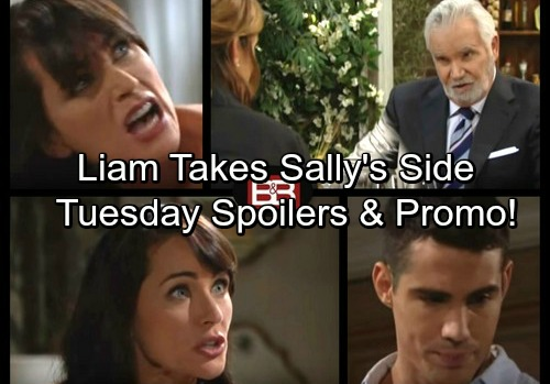The Bold and the Beautiful Spoilers: Mateo Spills All to Quinn – Sheila's Accusations Infuriate Eric – Liam Takes Sally's Side