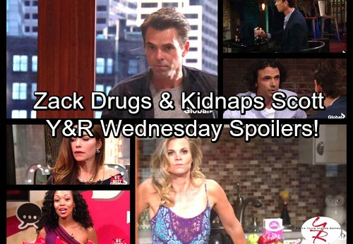 The Young and the Restless Spoilers: Zack Drugs Scott, Kidnaps Him – Victoria's On-air Collapse – Billy's Desperate Move