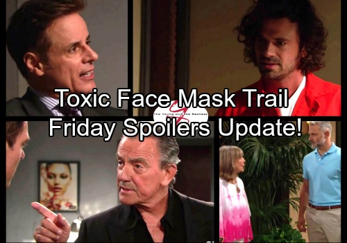 The Young and the Restless Spoilers: Friday, October 27 Updates - Victor and Billy Plot Against Jack – Lauren and Sharon Go to War