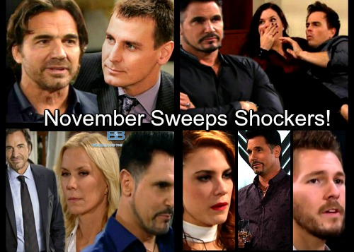 The Bold and the Beautiful Spoilers: November Sweeps Brings Bombshells – Cruel Schemes, Big News and a Stunning Comeback