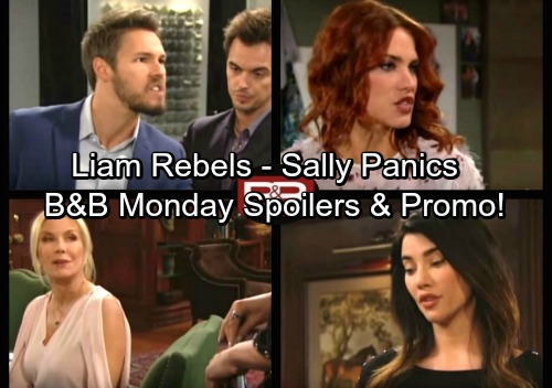 The Bold and the Beautiful Spoilers: Monday, October 30 - Sally Shares Bad News – Brooke Cancels Divorce Decision