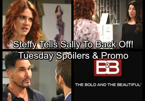 The Bold and the Beautiful Spoilers: Tuesday, October 31 - Sally Gets a Scary Gift – Steffy Protects Liam From Flirty Sally