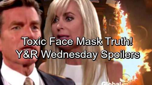 The Young and the Restless Spoilers: Wednesday, November 1 - Shocking Blaze Breaks Out – Ashley Gets Toxic Face Mask Truth
