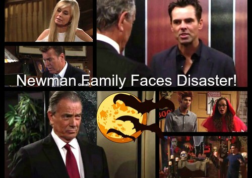 The Young and the Restless: Disasters Brings Newman Family To Their Knees – Genoa City Power Players in Panic Mode