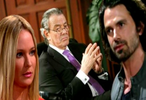 The Young and the Restless Spoilers: Victor Pulls Scott Into His Evil Web - Sharon Freaks Over The Moustache's Plot