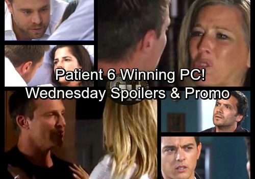 General Hospital Spoilers: Wednesday, November 1 – Michael Sides with Patient Six – Jason's Fears Grow – Franco Pressures Andre
