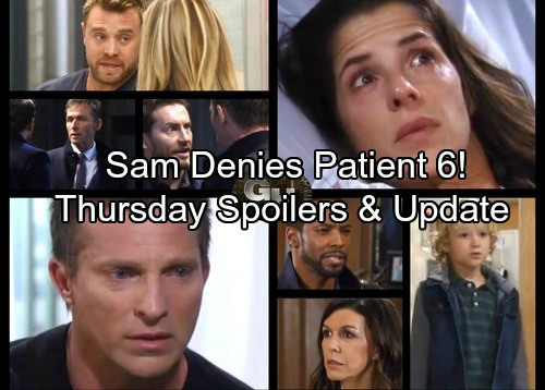 General Hospital Spoilers: Thursday, November 2 – Jason Faces Carly Claims – Sam Denies Patient 6 – Klein and Valentin Clash