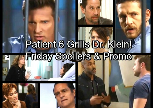 General Hospital Spoilers: Friday, November 3 – Patient Six Grills Dr. Klein – Curtis Joins Team Jason – Alexis Gets Julian News