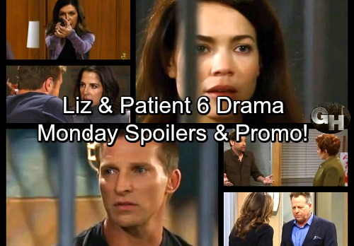 General Hospital Spoilers: Monday, November 6 – Alexis Visits Beaten Julian – Anna Threatens an Intruder – Liz Judges Patient 6