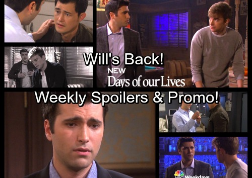 Days of Our Lives Spoilers: Week of Nov 6 - Sonny and Will's Emotional Reunion – Paul Pays the Price for Devastating Lie
