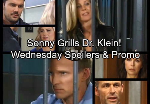 General Hospital Spoilers: Wednesday, November 8 – Sonny Grills Dr. Klein – Chet's Drug Crisis – Nelle Takes a Risk