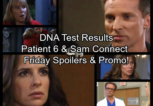 General Hospital Spoilers: Friday, November 10 – Jordan's DNA Test Results – Patient 6 and Sam Connect – Alexis Needs Ava's Help