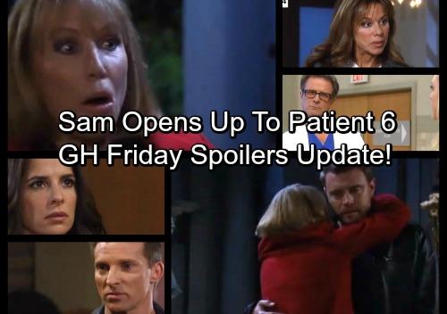 General Hospital Spoilers: Friday, November 10 Update – DNA Test Shocker - Sam Opens Up to Patient 6 – Monica Reassures Jason