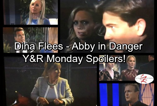 The Young and the Restless Spoilers: Monday, November 13 - Dina Goes Missing After Stabbing Nikki - Zack Threatens Abby's Life