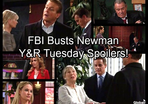 The Young and the Restless Spoilers: Tuesday, November 14 - FBI Busts Newman – Jack and Victor Work Together