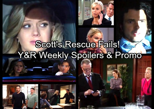 The Young and the Restless Spoilers: Week of November 13 - Nick Number One Arson Suspect – Scott Fails Abby Rescue, GC Panics